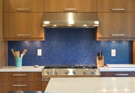 Кухонный фартук из акрилового камня