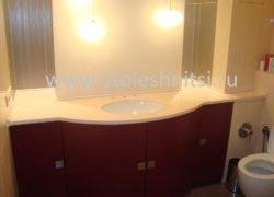 Столешница для ванной комнаты. Размеры 900х1700