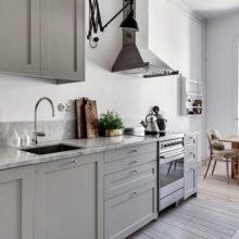 Кухни в скандинавском стиле — следуем модным тенденциям