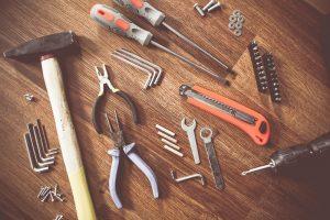 инструменты для установки мойки